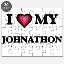 I love Johnathon Puzzle