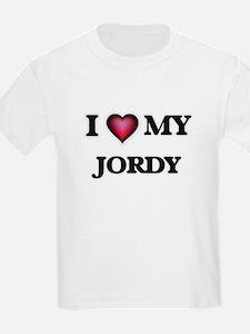 I love Jordy T-Shirt