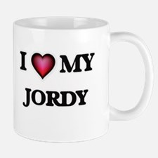 I love Jordy Mugs