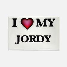 I love Jordy Magnets