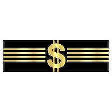 John Galt Dollar Emblem Bumper Bumper Sticker