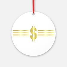 John Galt Dollar Emblem Ornament (Round)