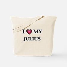 I love Julius Tote Bag