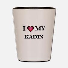 I love Kadin Shot Glass