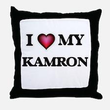 I love Kamron Throw Pillow
