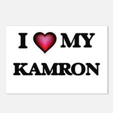 I love Kamron Postcards (Package of 8)