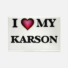 I love Karson Magnets