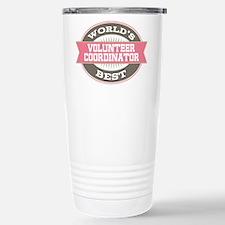 volunteer coordinator Stainless Steel Travel Mug