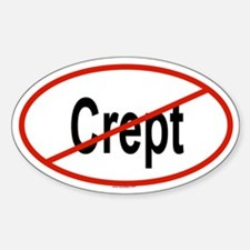 CREPT Oval Decal