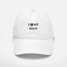 I love Keon Baseball Baseball Cap