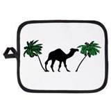 Camel Oven Mitts and Potholders