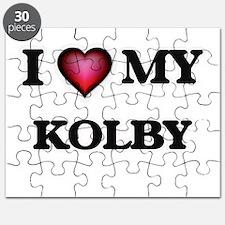 I love Kolby Puzzle