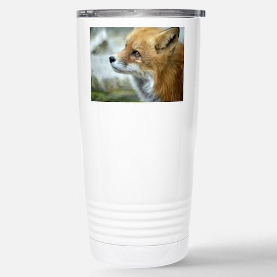 Fox Stainless Steel Travel Mug