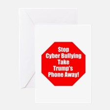 Stop trump's cyber bullying, stop bully trump