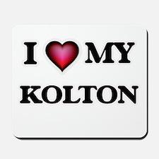 I love Kolton Mousepad