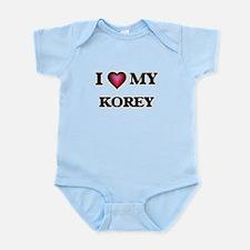 I love Korey Body Suit