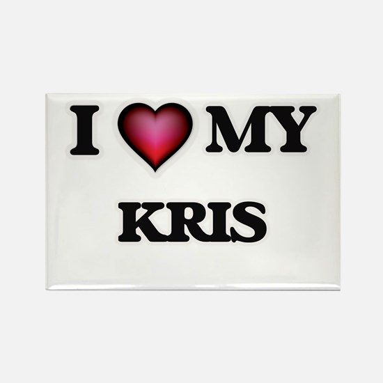 I love Kris Magnets