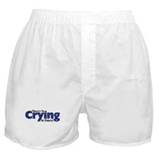 There's No Crying in Dance Boxer Shorts