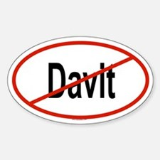 DAVIT Oval Decal