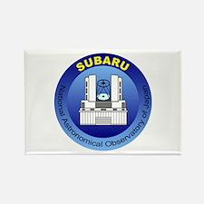 Subaru Telescope Logo Rectangle Magnet