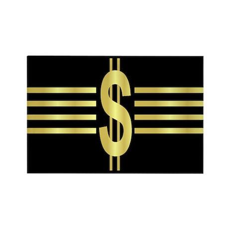John Galt Dollar Emblem Rectangle Magnet