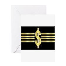 John Galt Dollar Emblem Greeting Card