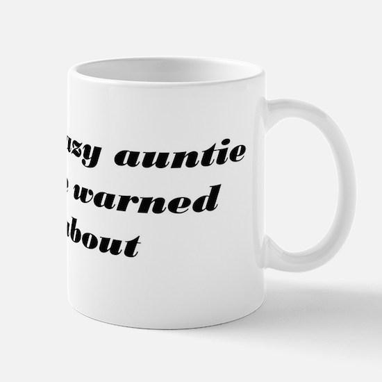 Crazy auntie Mugs