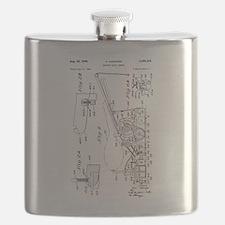 1949 O. Hadwiger Bowling Alley Sander Flask