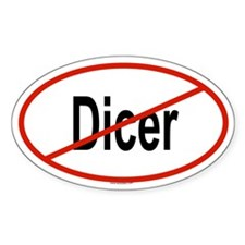 DICER Oval Decal