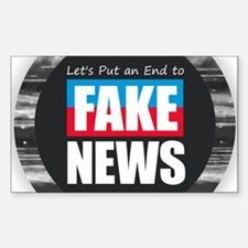 End Fake News Decal