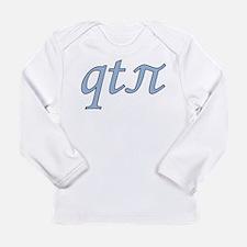 qt-pi-bblue Long Sleeve T-Shirt