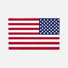 Reversed USA Flag 3'X5' Area Rug