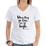 Michelle obama Womens V-Neck T-shirts