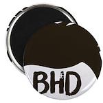 BadHairDay Logo Magnets