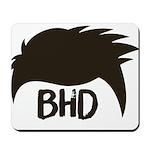 BadHairDay Logo Mousepad