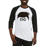 BadHairDay Logo Baseball Jersey