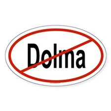 DOLMA Oval Decal