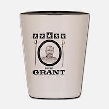 Cute General grant Shot Glass