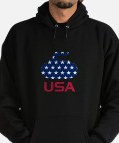 USA curling Sweatshirt
