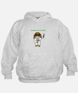 Science Girls Rock Sweatshirt