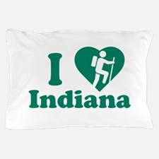 Love Hiking Indiana Pillow Case