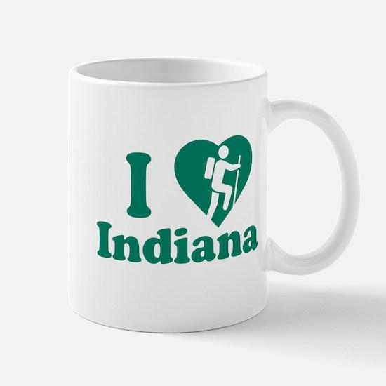 Love Hiking Indiana Mug