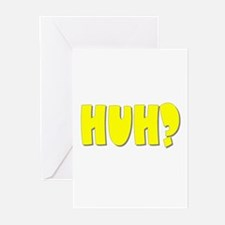 Huh? Greeting Cards (Pk of 10)