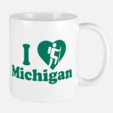 Love Hiking Michigan Mug