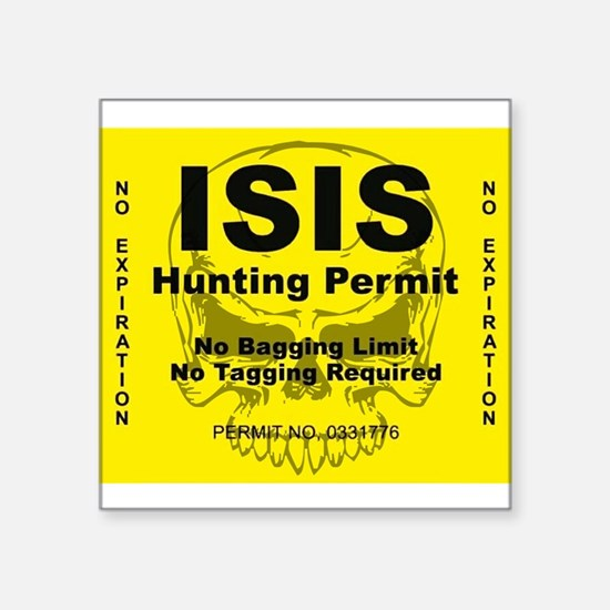 Permit Sticker