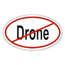 DRONE Oval Bumper Stickers