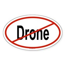 DRONE Oval Decal