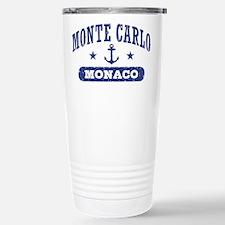 Monte Carlo Monaco Stainless Steel Travel Mug