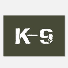 Police: K-9 Dog Handler Postcards (Package of 8)