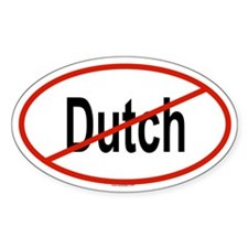 DUTCH Oval Decal